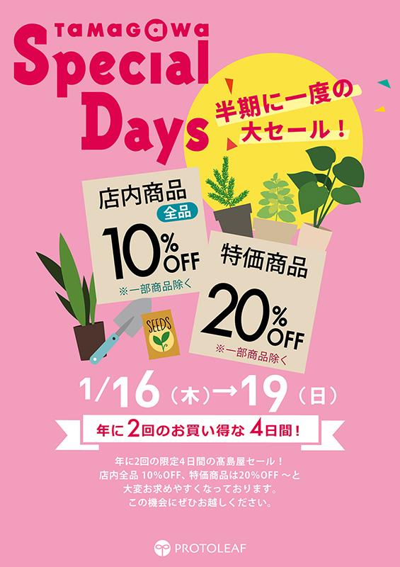 玉川 高島屋 スペシャル デイズ 2020